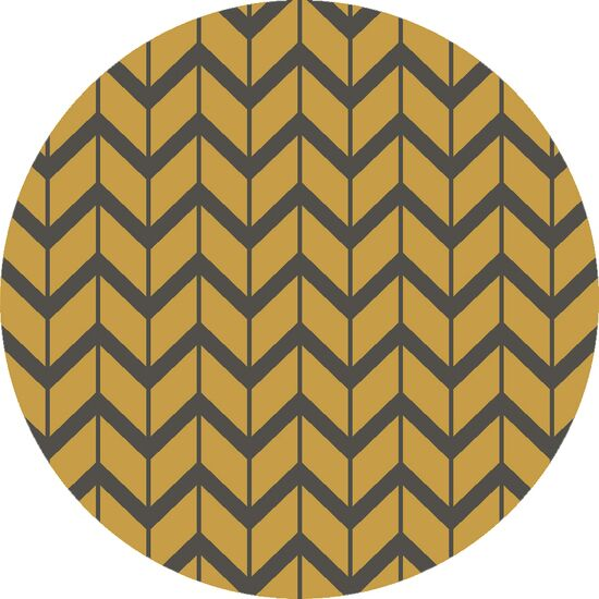 Fallon Citrine Hand-Woven Yellow/Black Area Rug Rug Size: Rectangle 8' x 11'