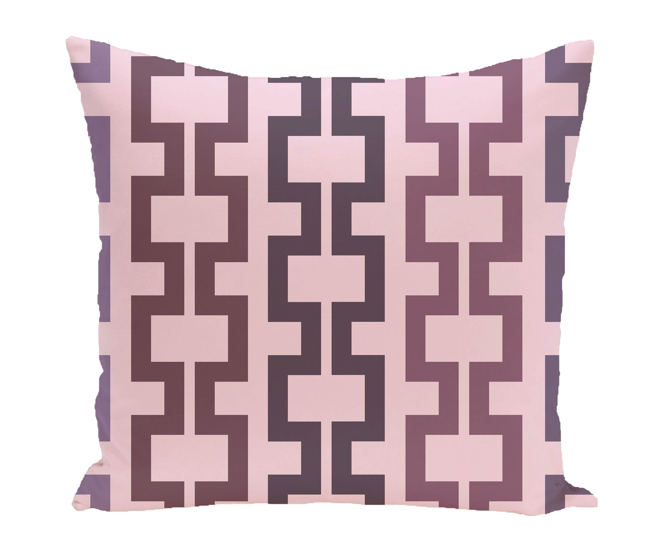 Subline Geometric Throw Pillow Size: 18