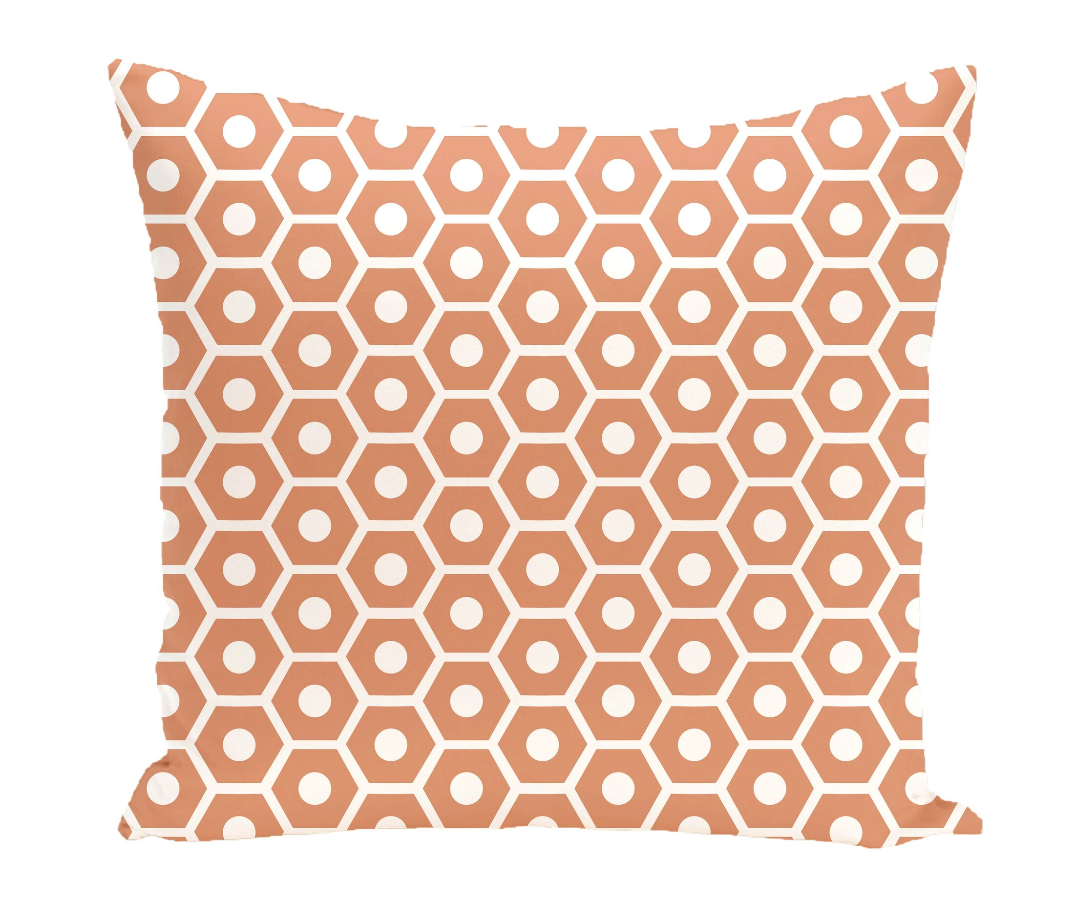 Subline Geometric Throw Pillow Size: 18