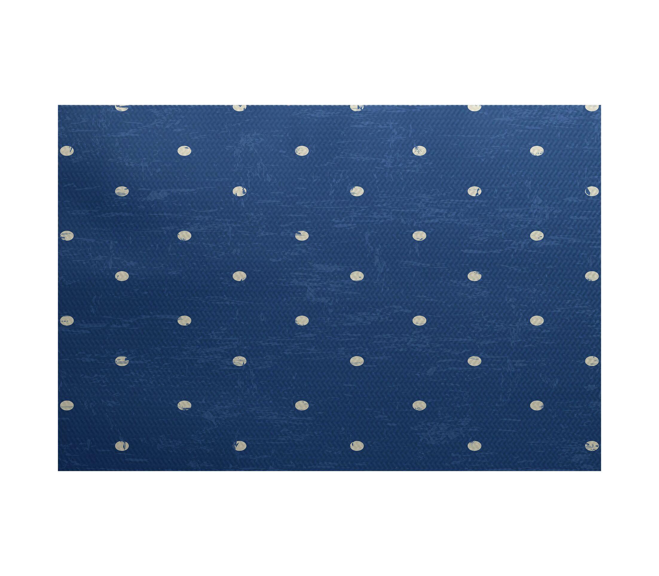 Pembrook Blue Indoor/Outdoor Area Rug Rug Size: Rectangle 3' x 5'