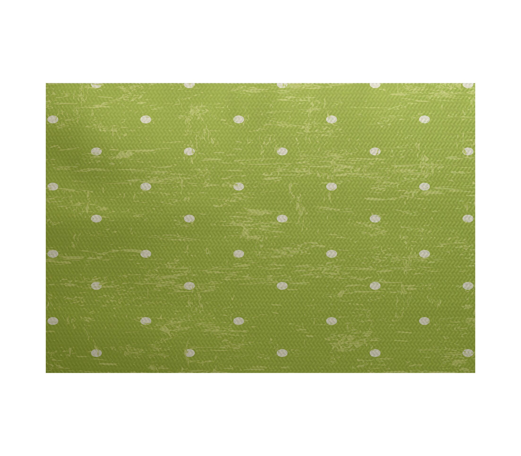 Golden Beach Light Green Indoor/Outdoor Area Rug Rug Size: Rectangle 3' x 5'