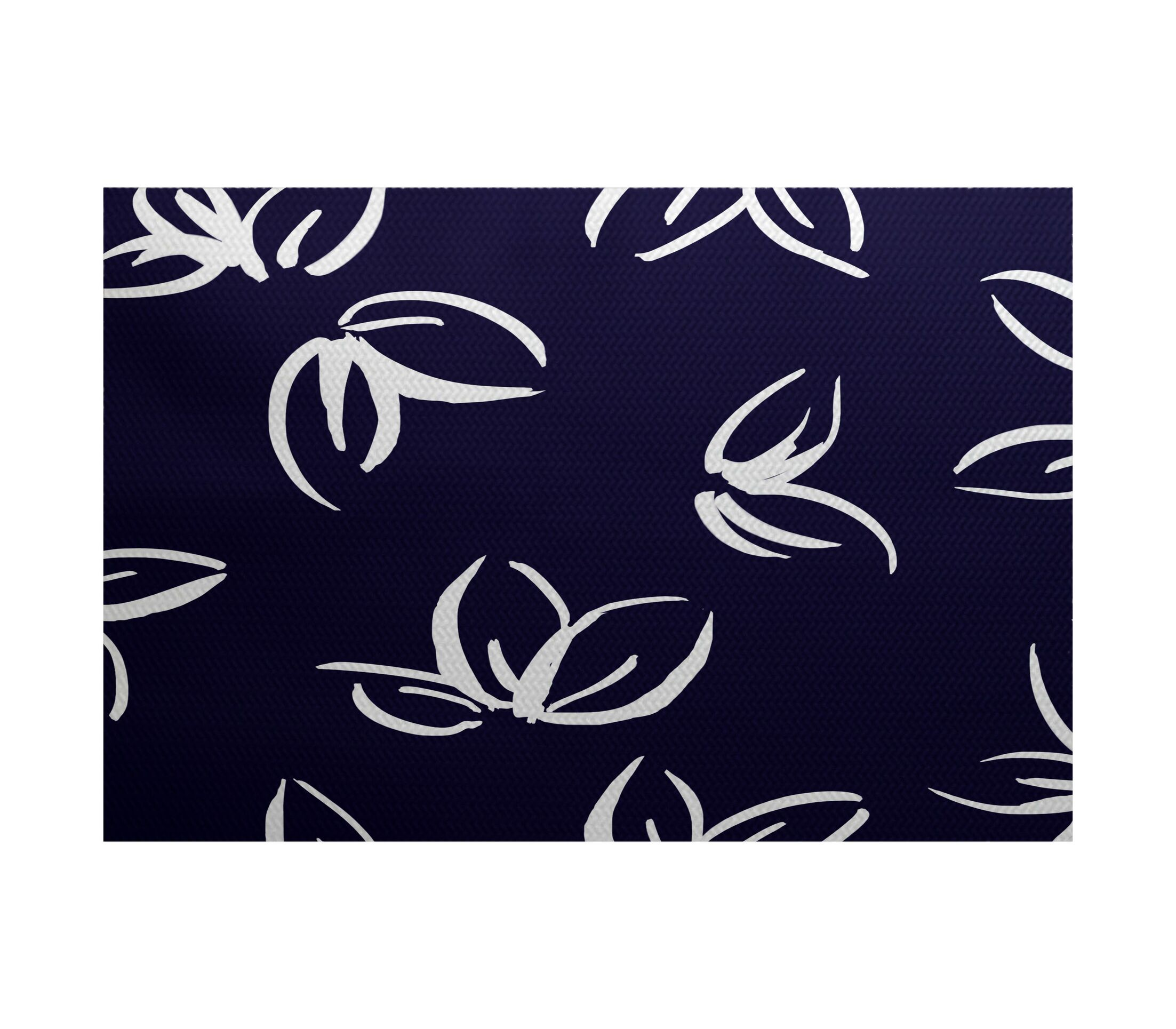 Neville Blue Indoor/Outdoor Area Rug Rug Size: Rectangle 3' x 5'