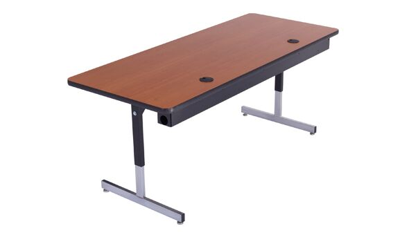 Training Table with Cable Management Size: 29