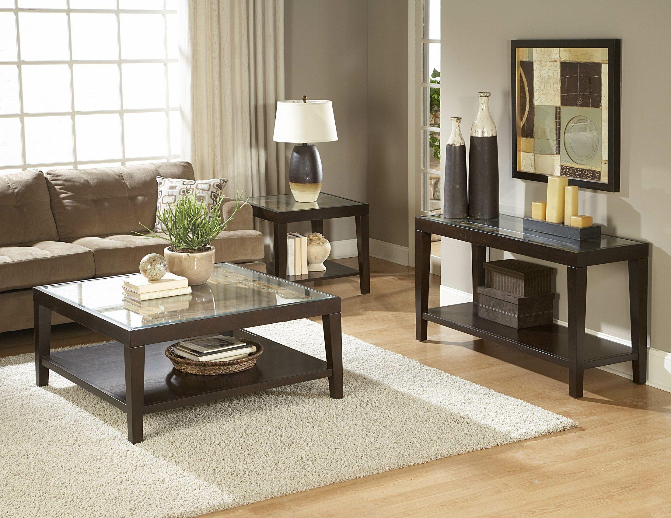 3299 Series 3 Piece Coffee Table Set