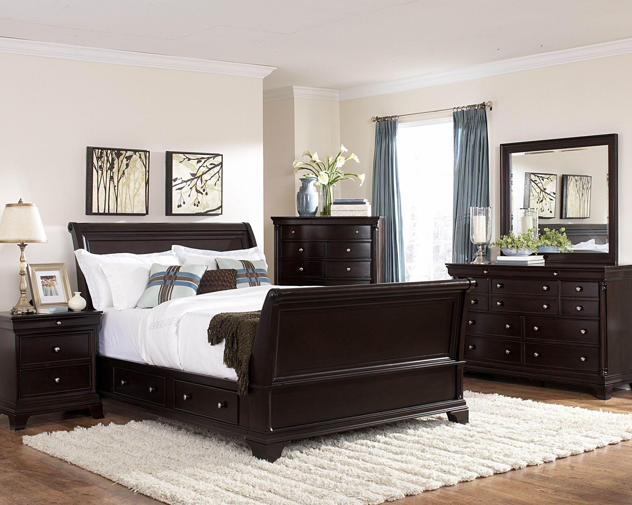 Inglewood Sleigh Configurable Bedroom Set