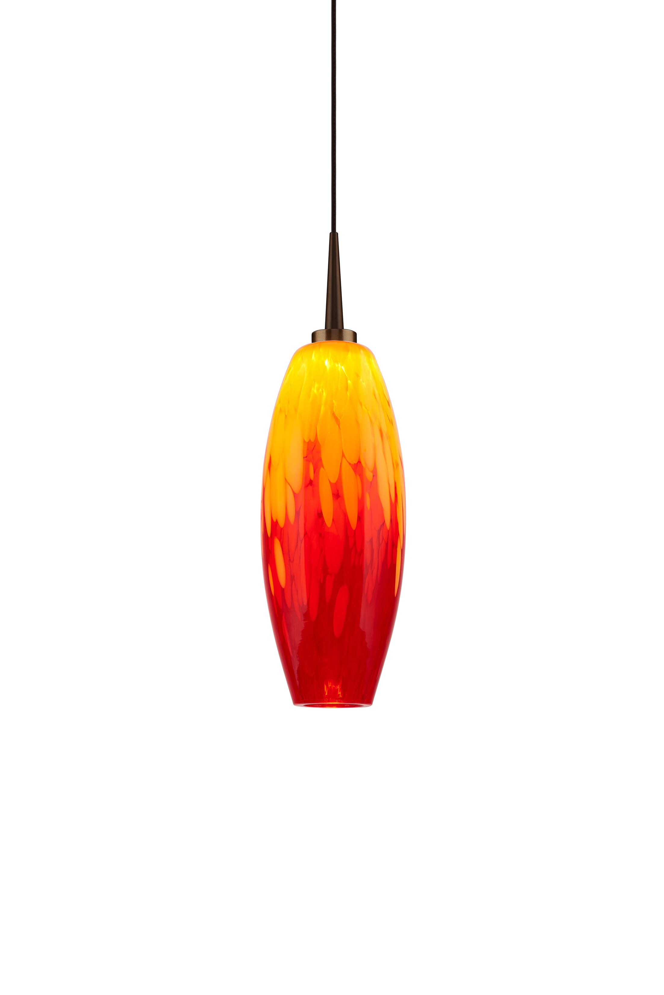 Ciro 1-Light Cone Pendant Color: Bronze