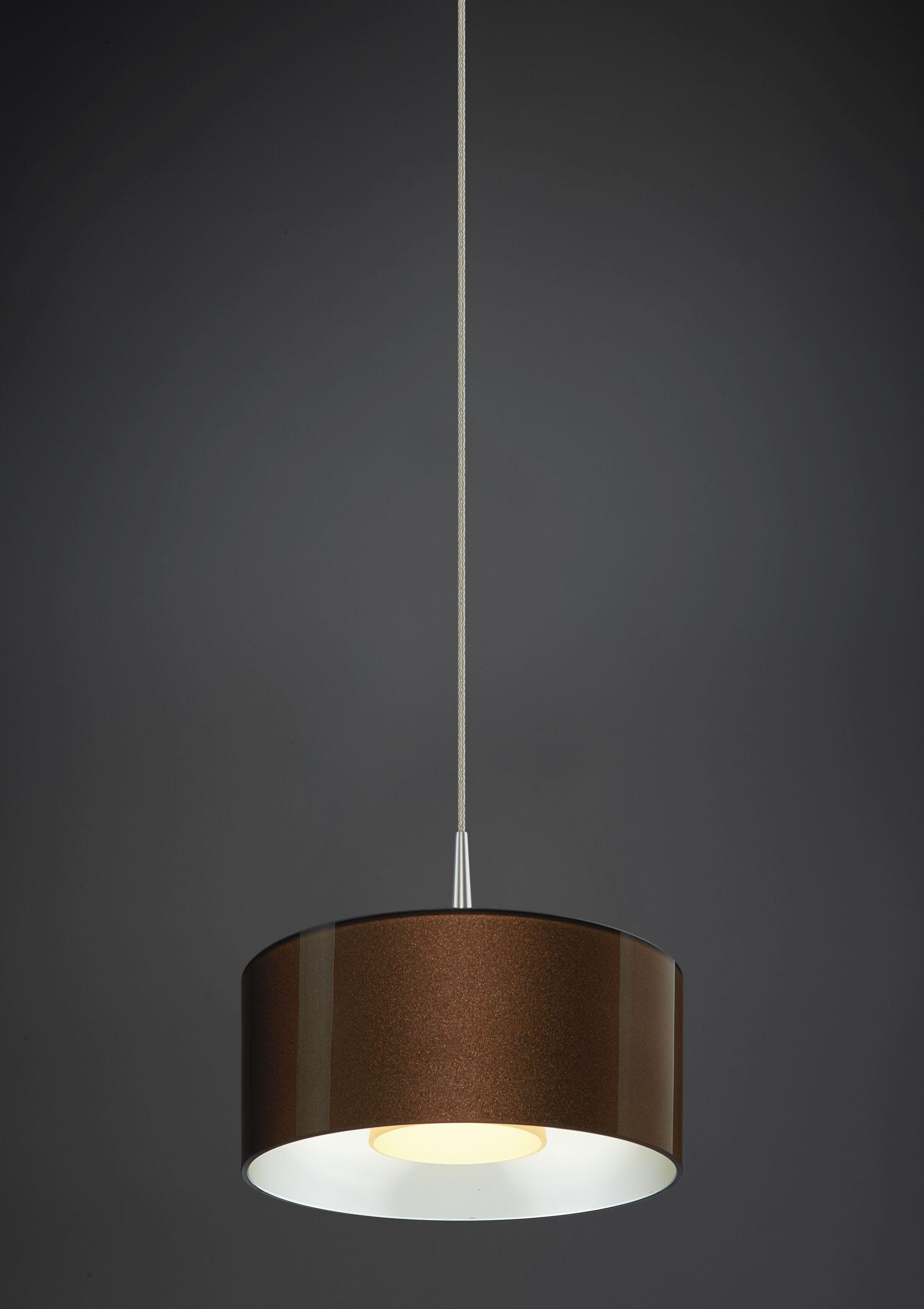 Jaggers 1-Light  LED  Pendant Finish: Matte Chrome