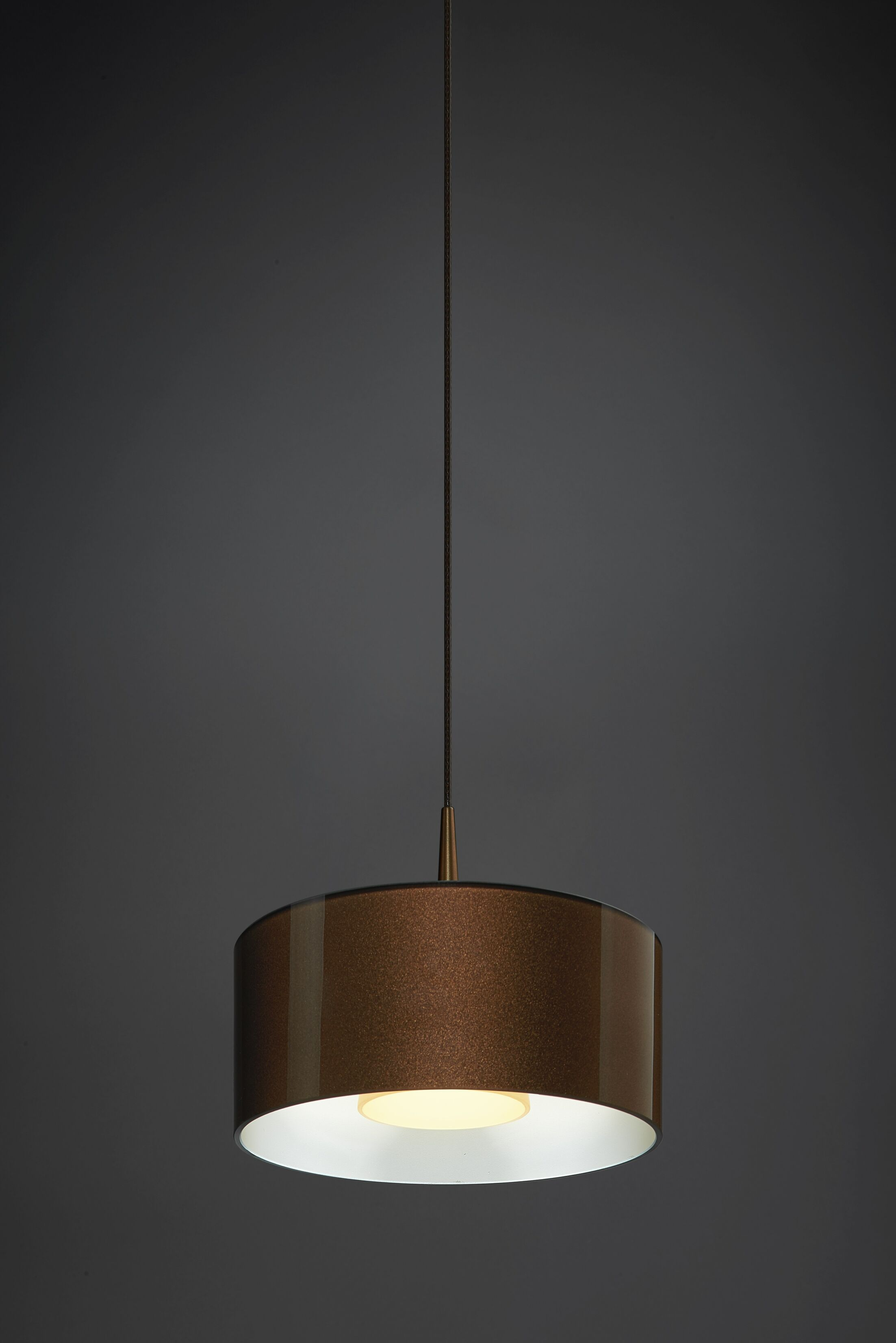 Jaggers 1-Light  LED  Pendant Finish: Bronze