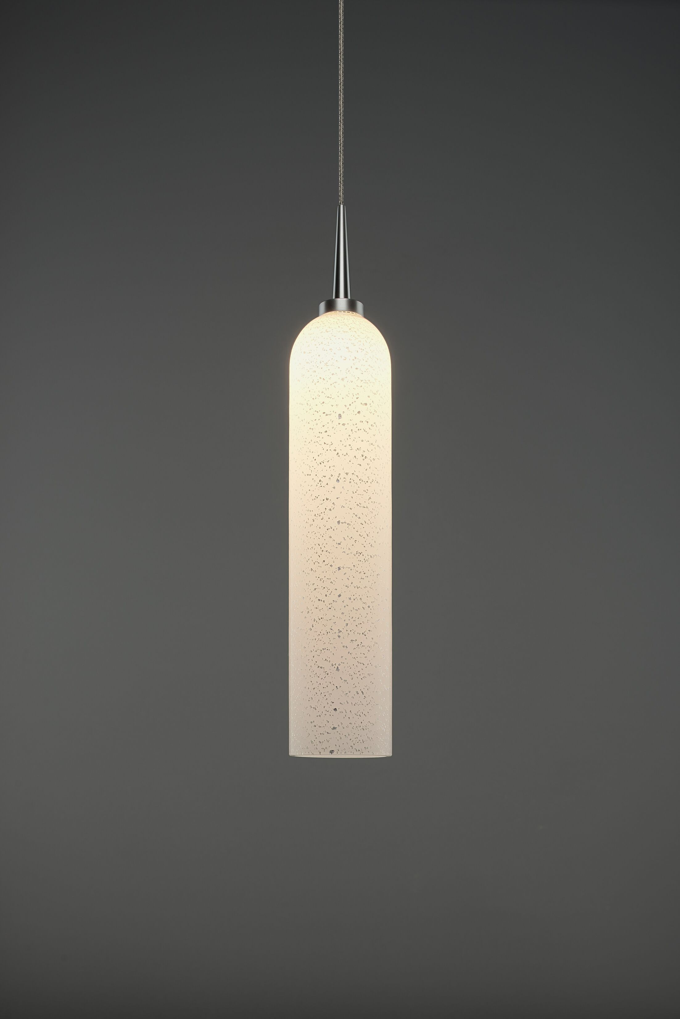 Chianti 1-Light Cylinder Pendant Color: Matte Chrome