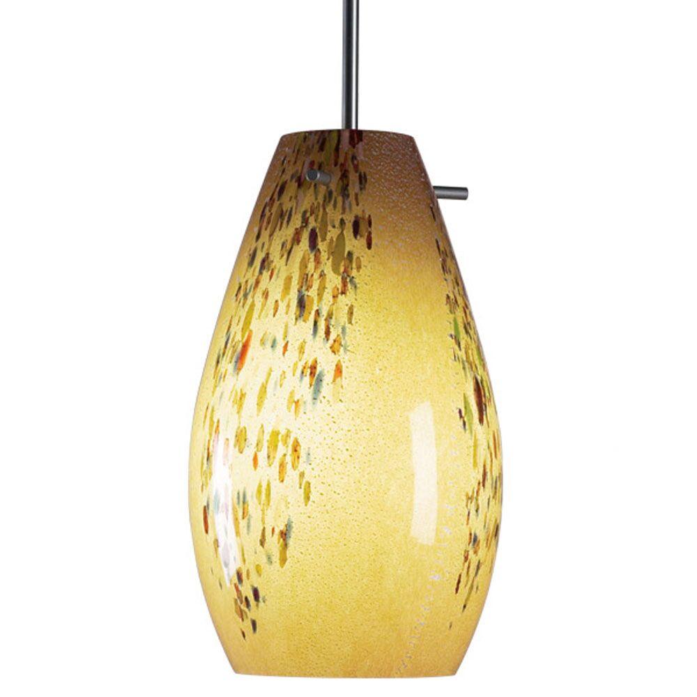 Soho 1-Light Cone Pendant Color: Bronze, Shade Color: Sea Shell