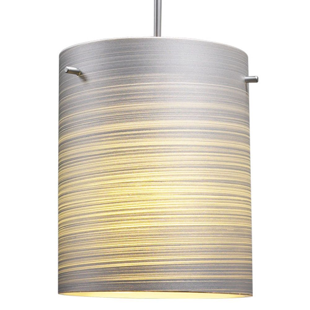 Regal 1-Light Cylinder Pendant Shade Color: Silver, Color: Matter Chorme