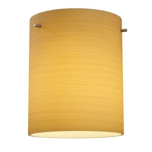 Regal 1-Light Cylinder Pendant Color: Bronze, Shade Color: Merlot
