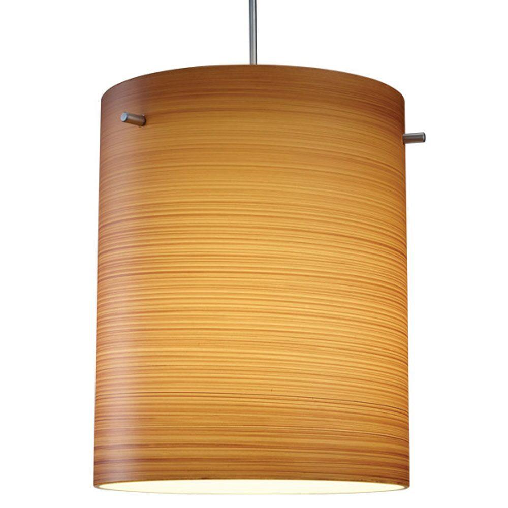 Regal 1-Light Cylinder Pendant Shade Color: Silver, Color: Chorme