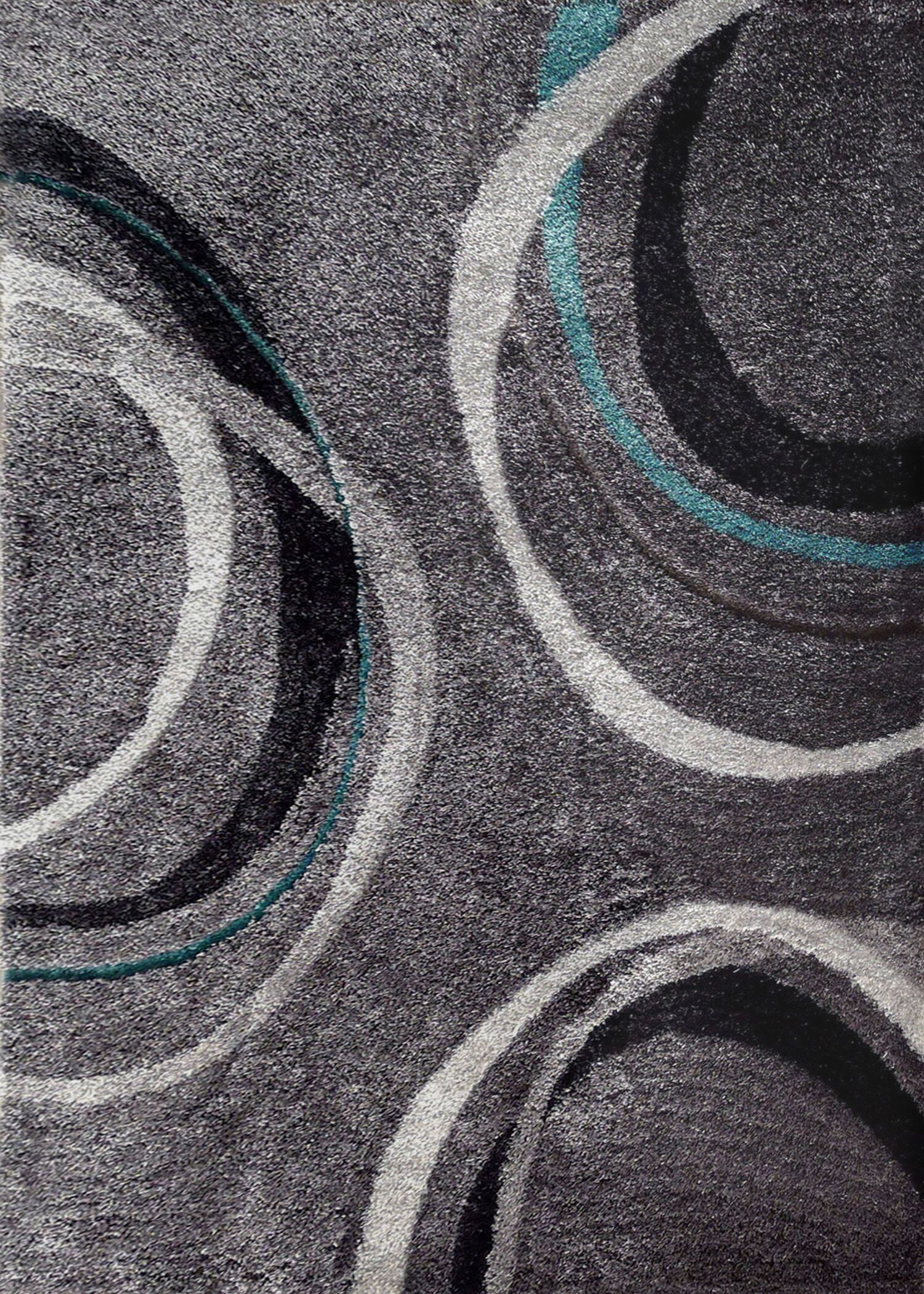 Lola Hand-Tufted Gray Area Rug