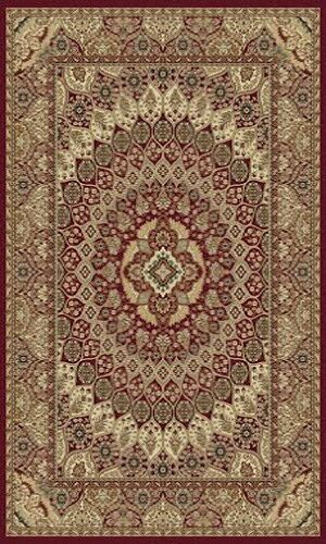 Tabriz Red Area Rug Rug Size: 8' x 11'