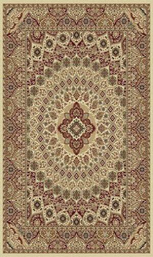Tabriz Cream Indoor/Outdoor Area Rug Rug Size: 5' x 8'