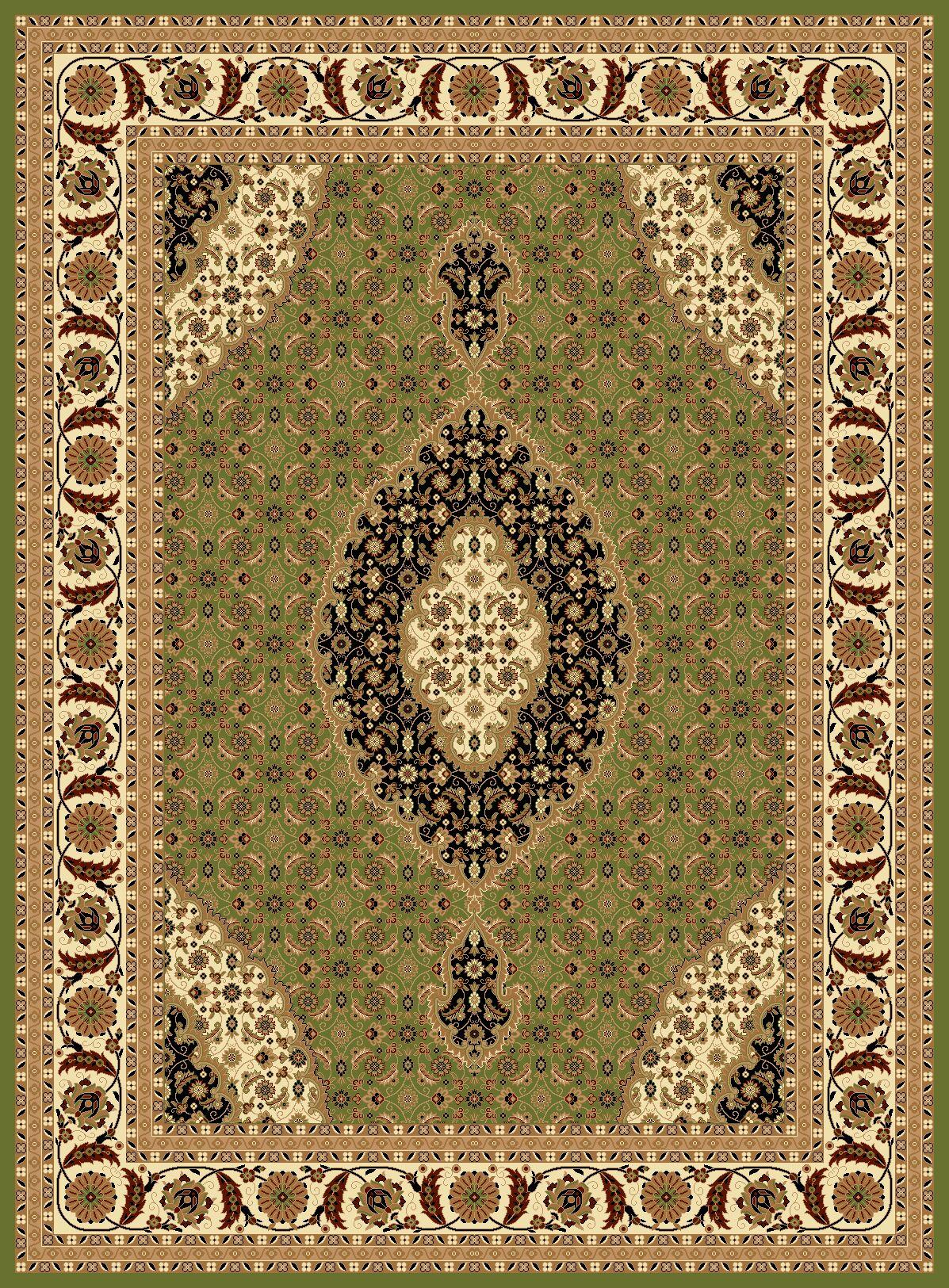 Mona Lisa Green Area Rug Rug Size: Rectangle 7'11