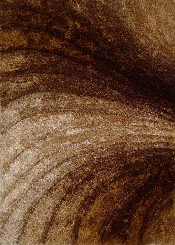 Mcginn Design Hand-Woven Gold/Brown Area Rug