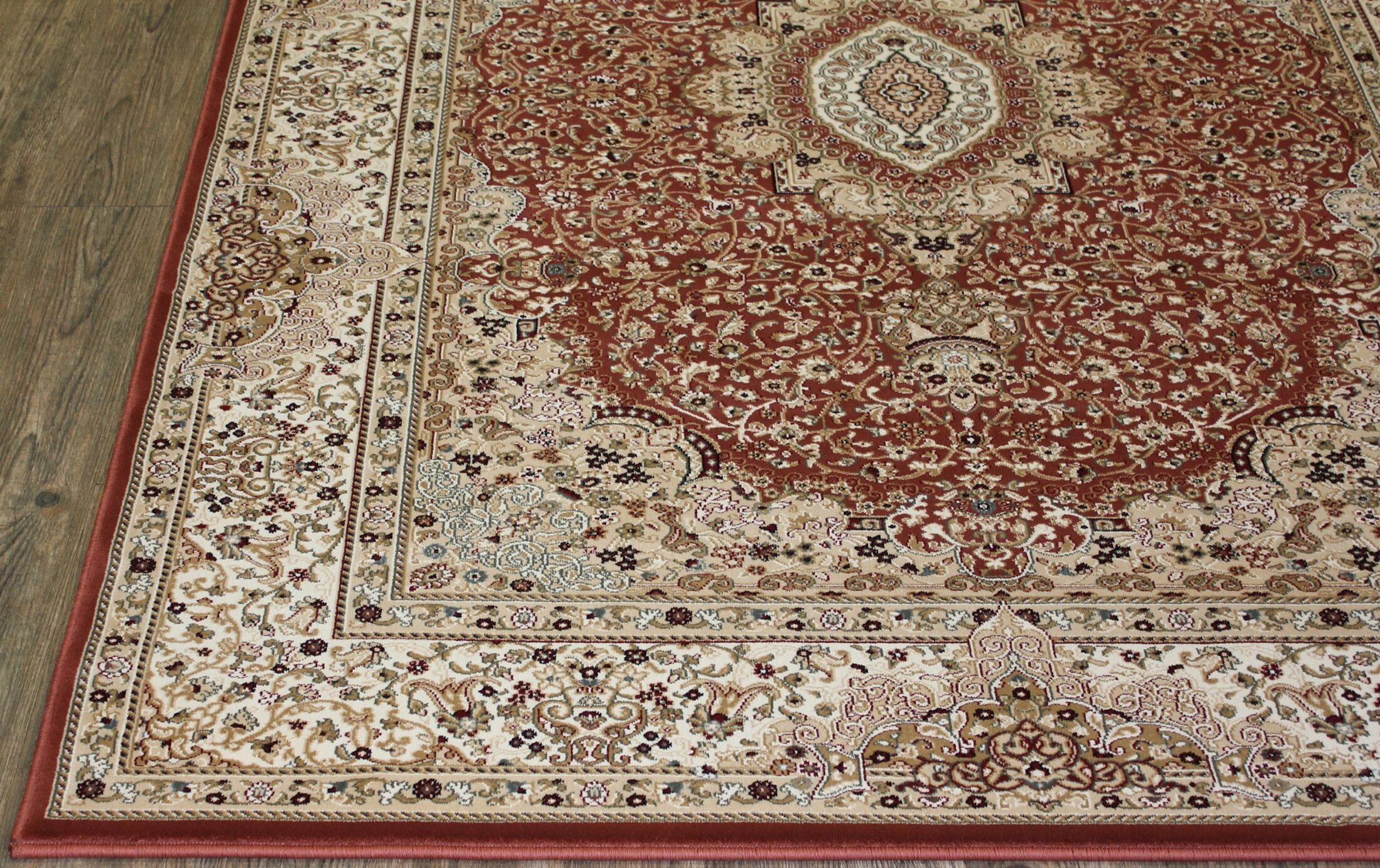 Tabriz Hand-Tufted Rose Area Rug