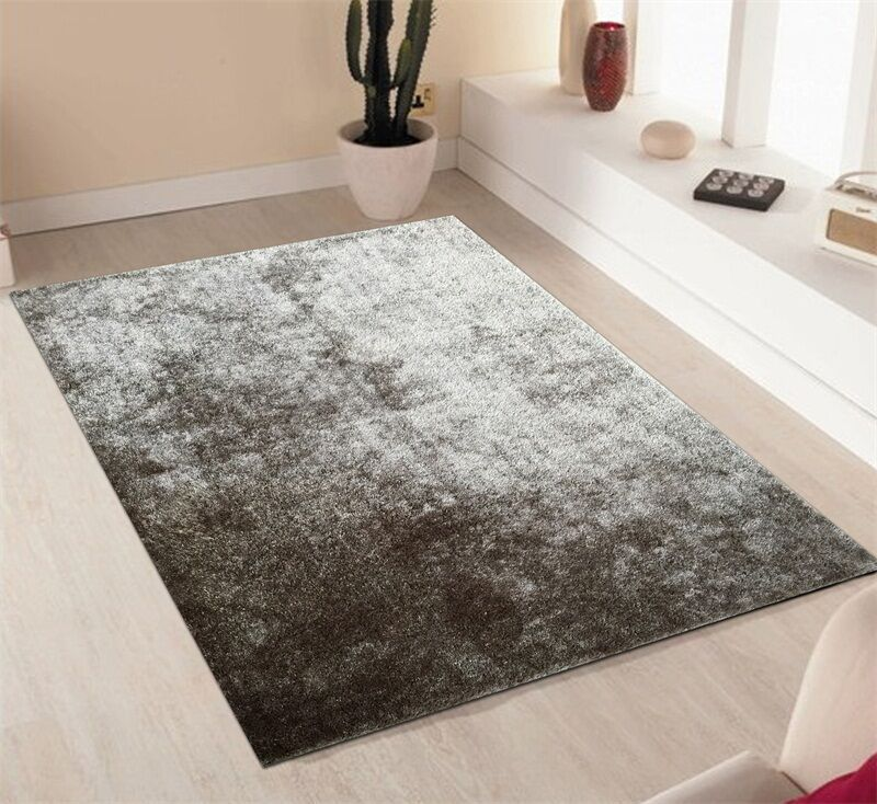 Pattison Hand-Tufted Silver Area Rug