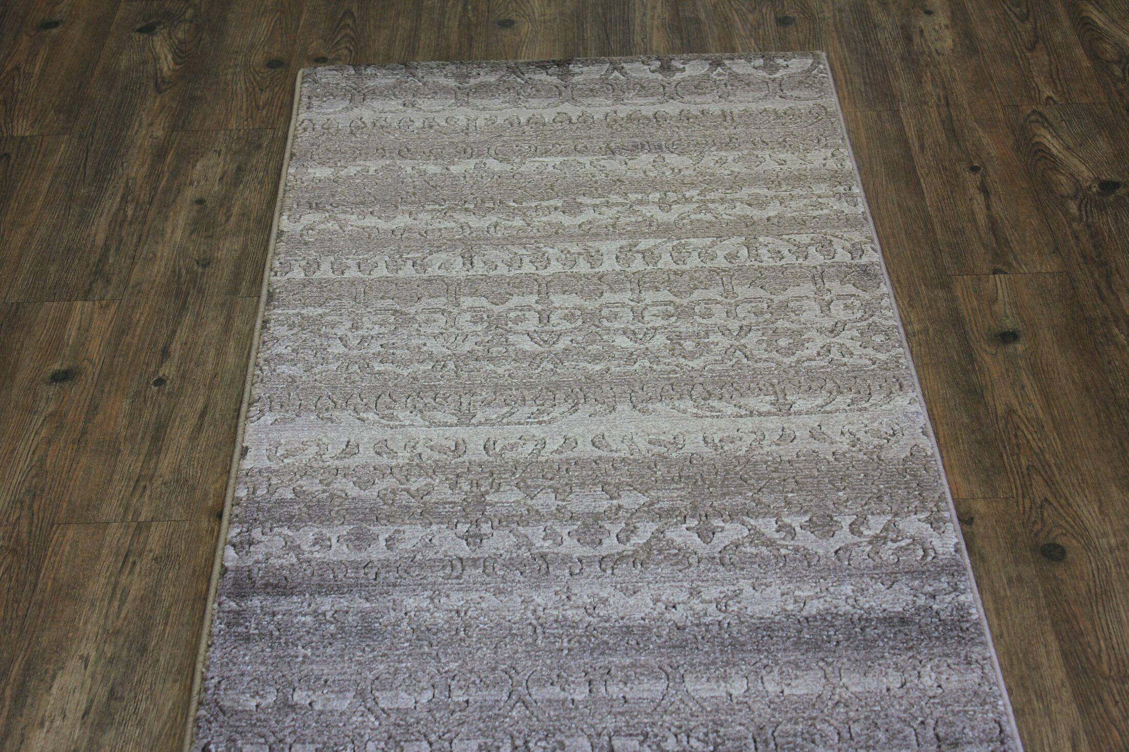 Como Beige Area Rug Rug Size: 8' x 10'