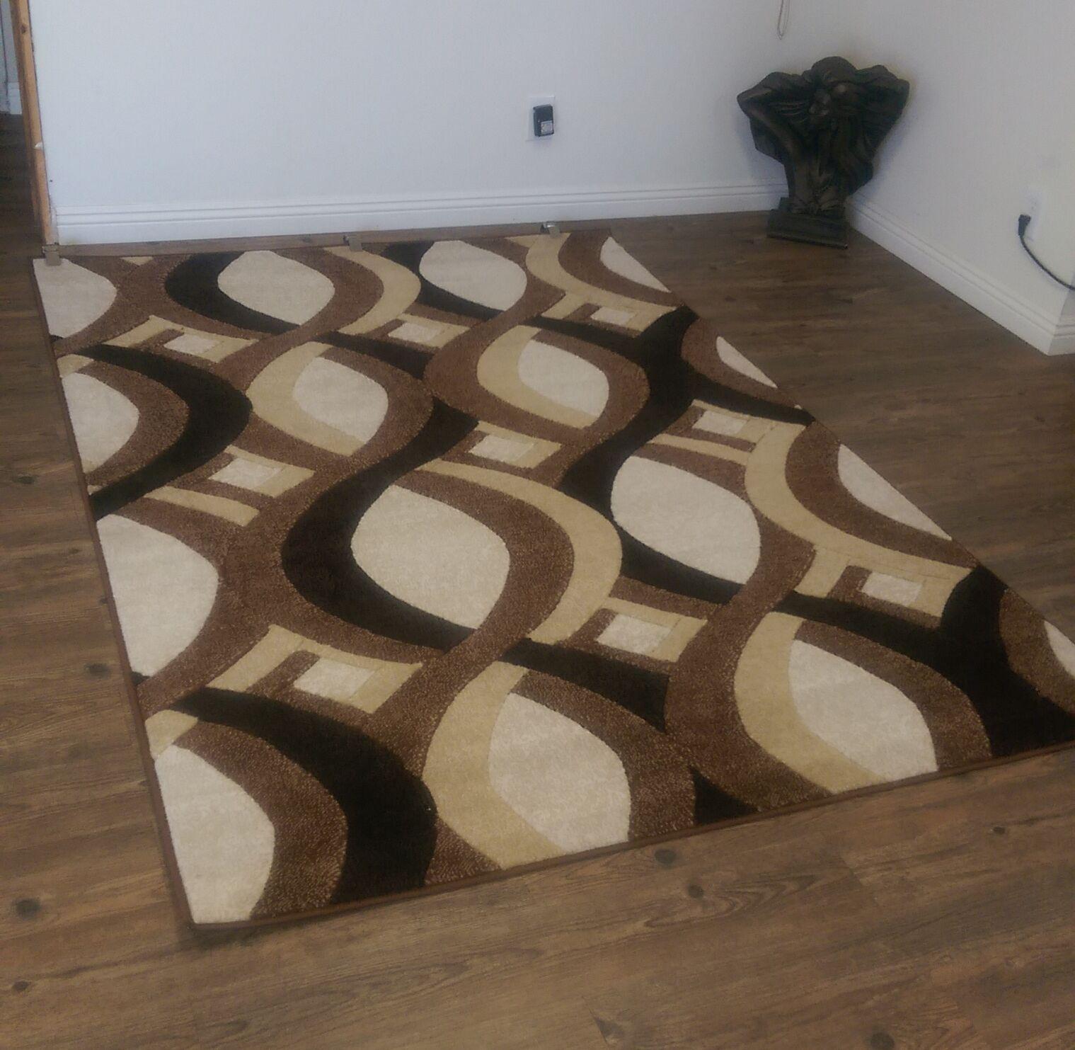 LifeStyle Brown/Beige Indoor/Outdoor Area Rug Rug Size: 8' x 11'