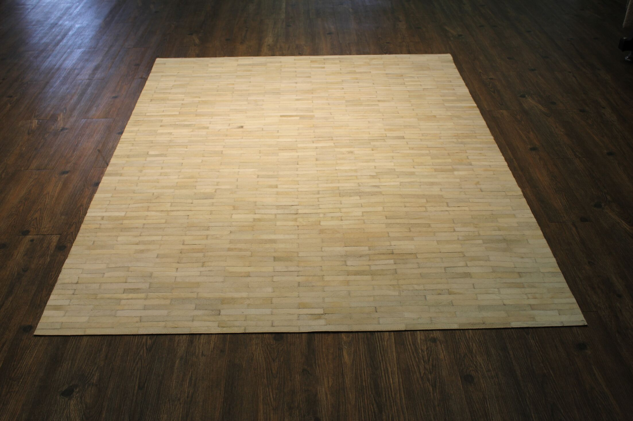 Petrick Handwoven Beige Area Rug Rug Size: Rectangle 5' x 7'