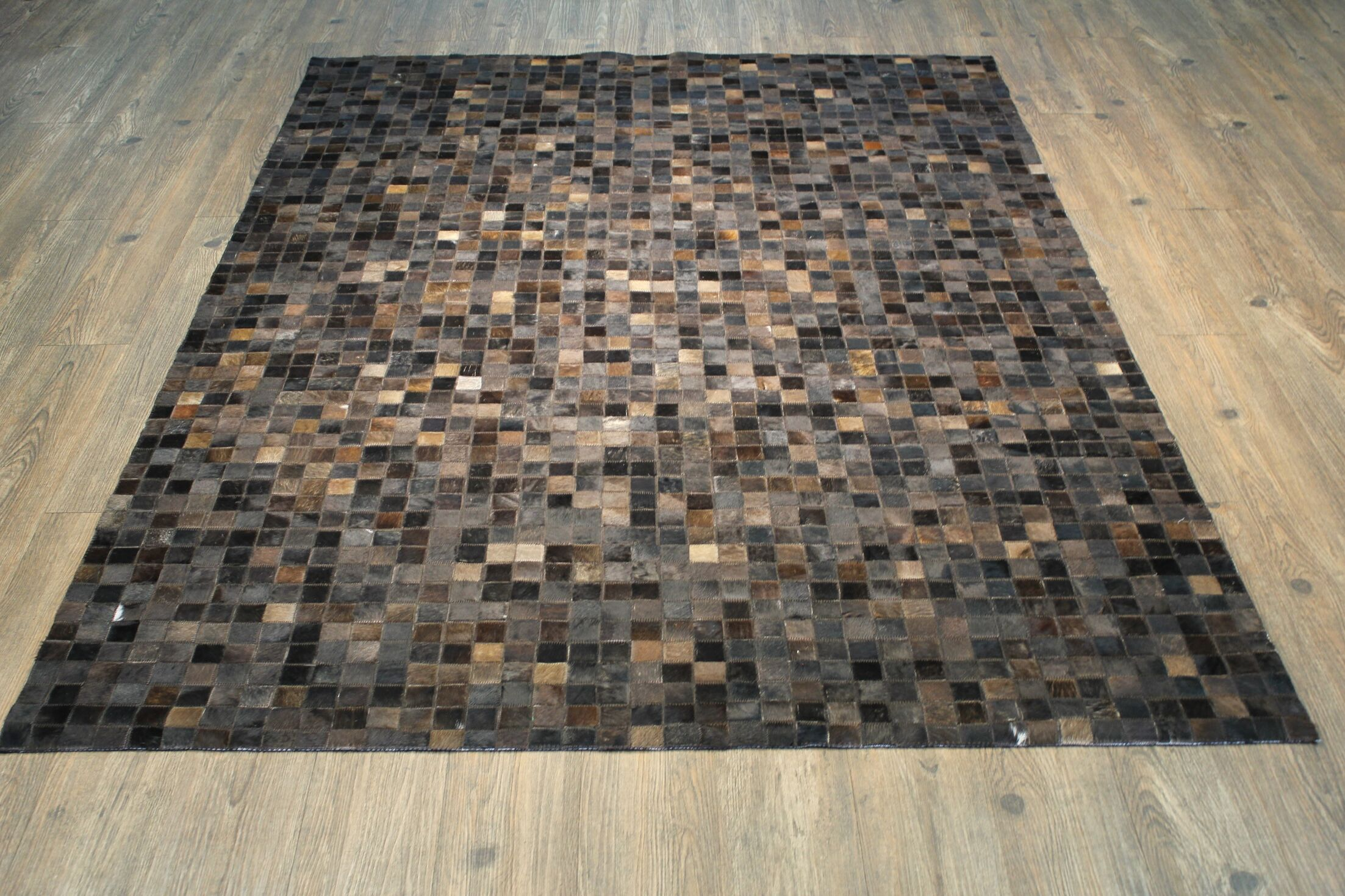 One-of-a-Kind Oconner Hand-Woven Dark Brown/Gray Area Rug