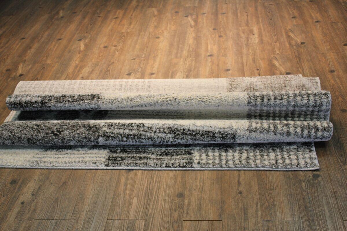 Charlebois Contemporary Gray/Tan Area Rug