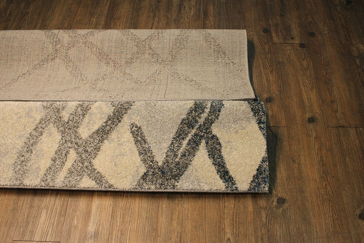 Byerly Contemporary Gray/Beige Area Rug
