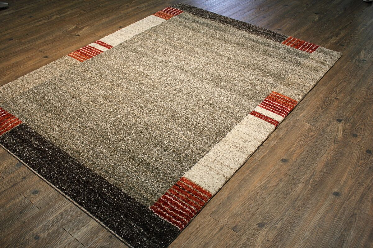 Francisca Silver/Gray Area Rug Rug Size: Rectangle 9'10