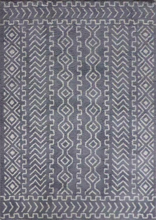 Leyden Hand-Tufted Gray Indoor Area Rug
