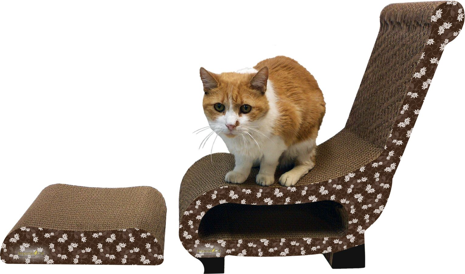 Scratch 'n Shapes 2 Piece Club Chair Set Recycled paper Scratching Post