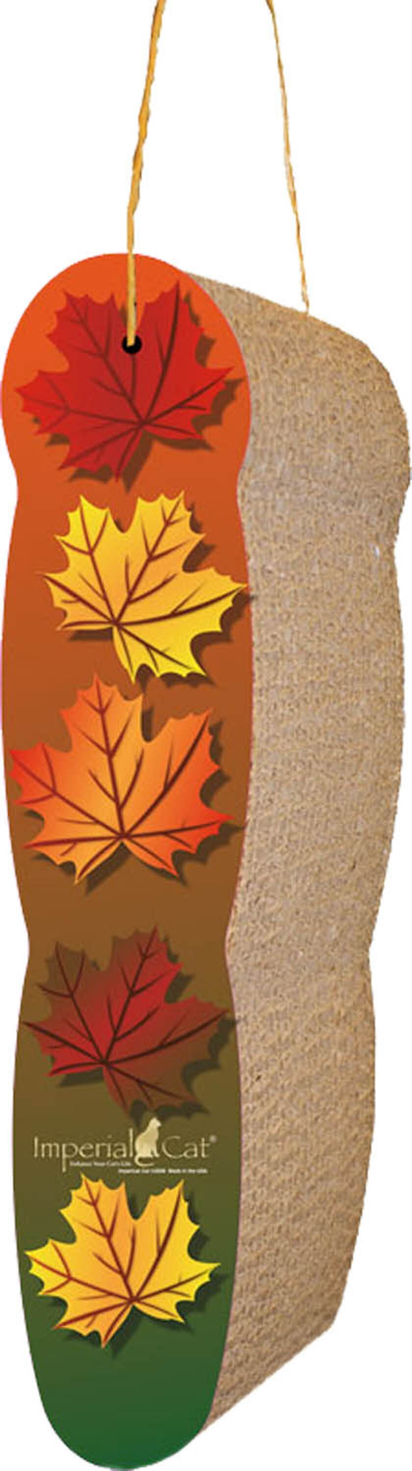 Scratch n' Shapes Leaves Hanging Recycled Paper Scratching Board