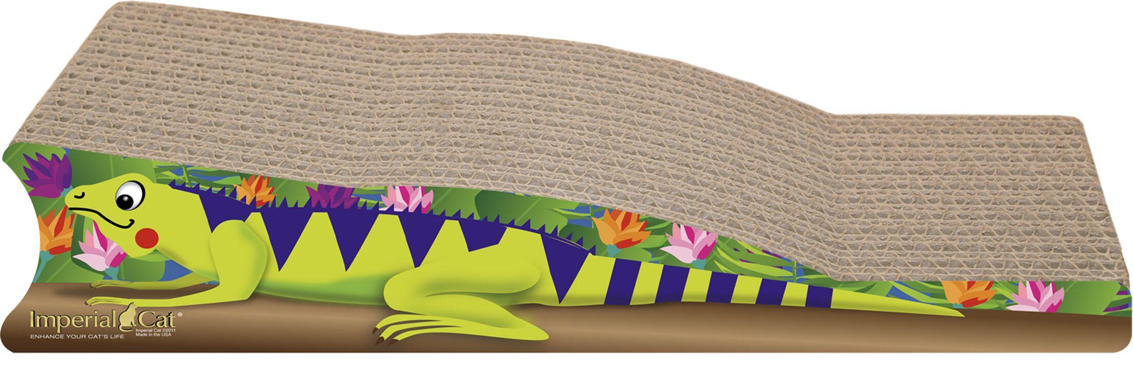 Scratch 'n Shapes Medium Iguana Recycled Paper Scratching Board