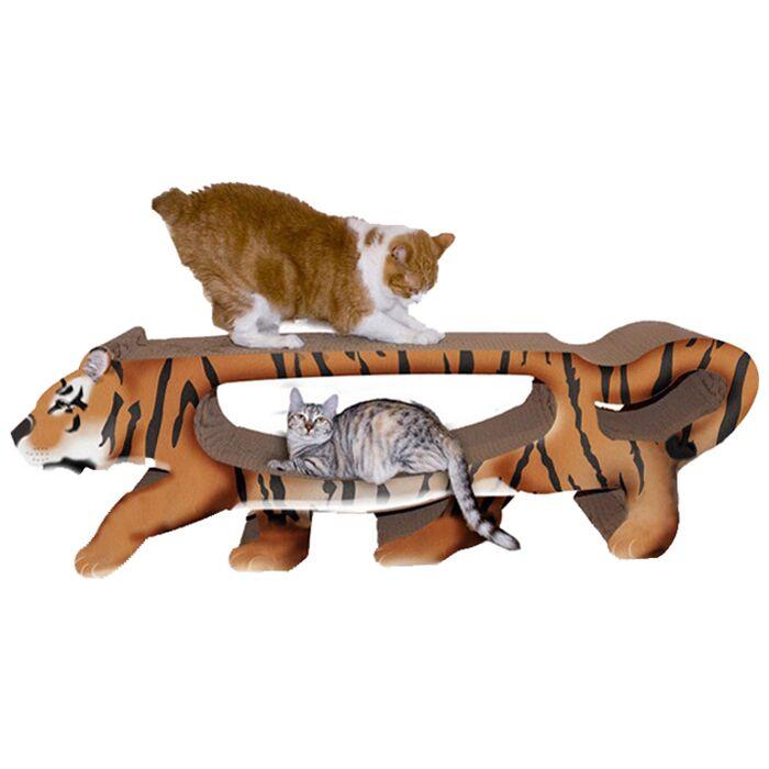 Scratch 'n Shapes Tiger Cardboard Scratching Board