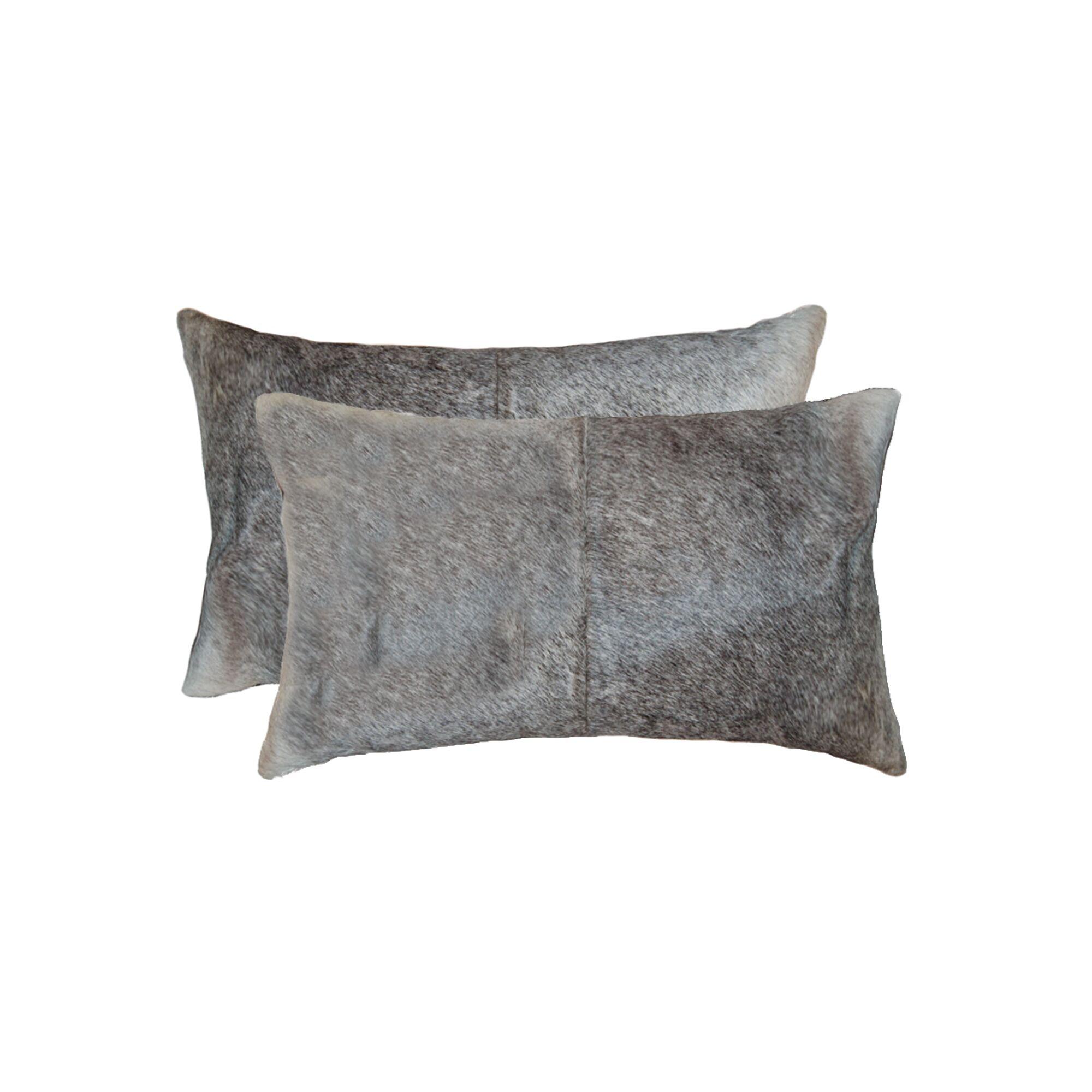 Abhinav Leather Lumbar Pillow
