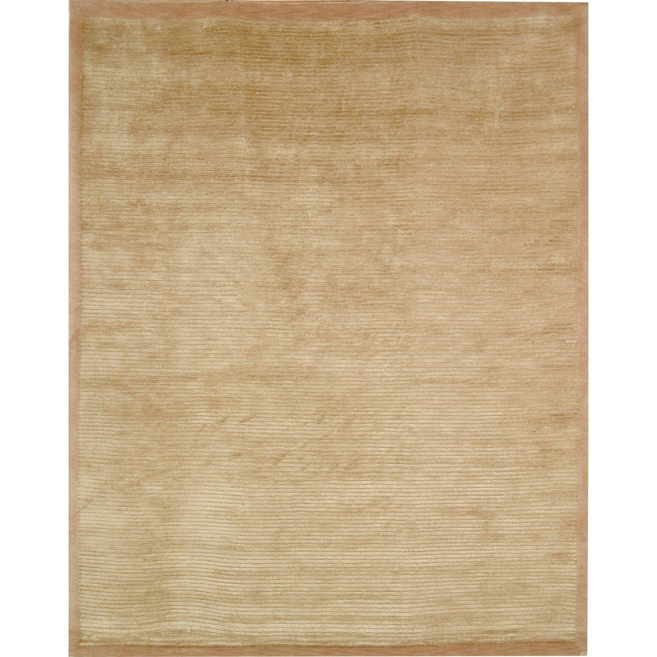 Velvet Wool Straw Tan Area Rug Rug Size: Rectangle 8' x 10'
