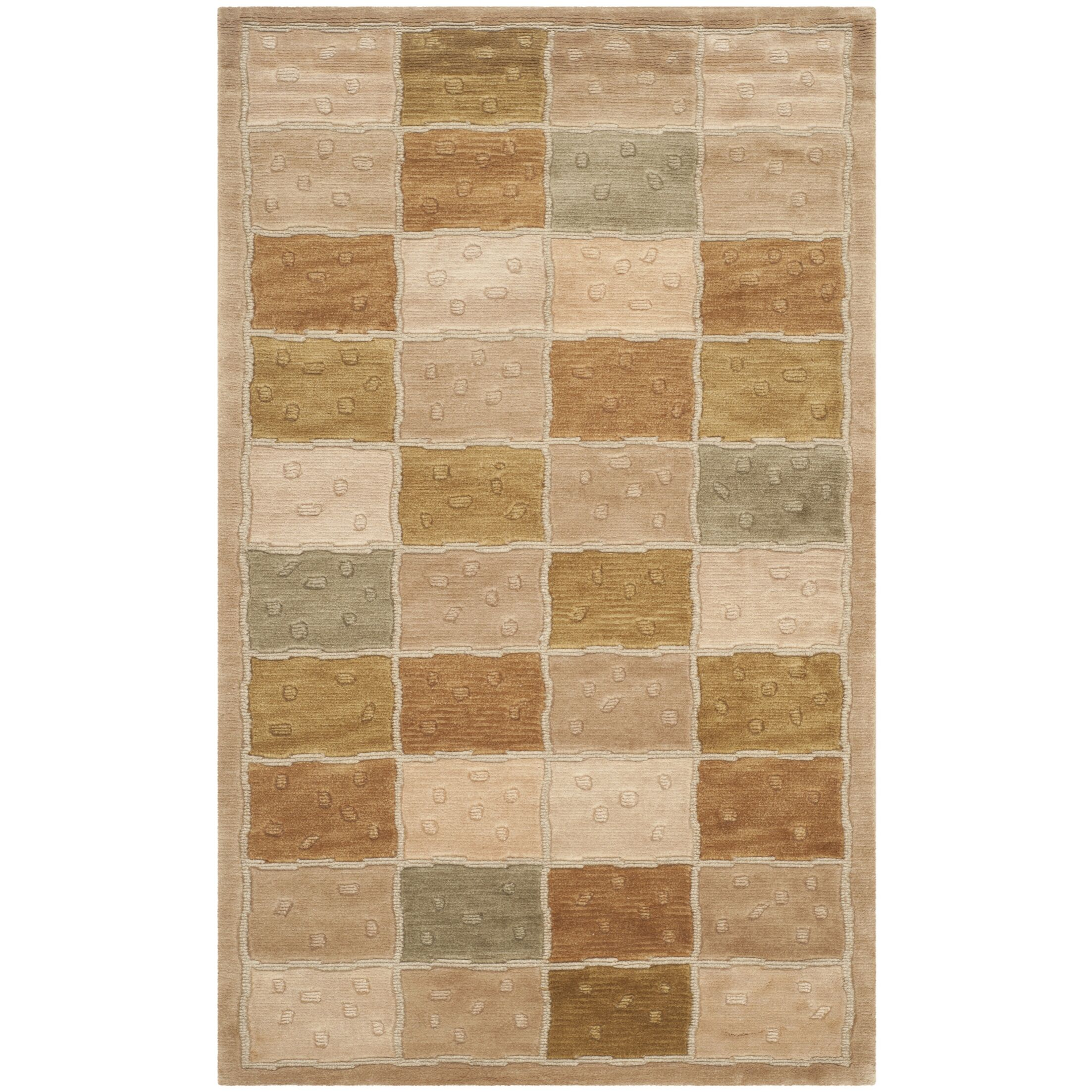 Patchwork Area Rug Rug Size: Rectangle 3' x 5'