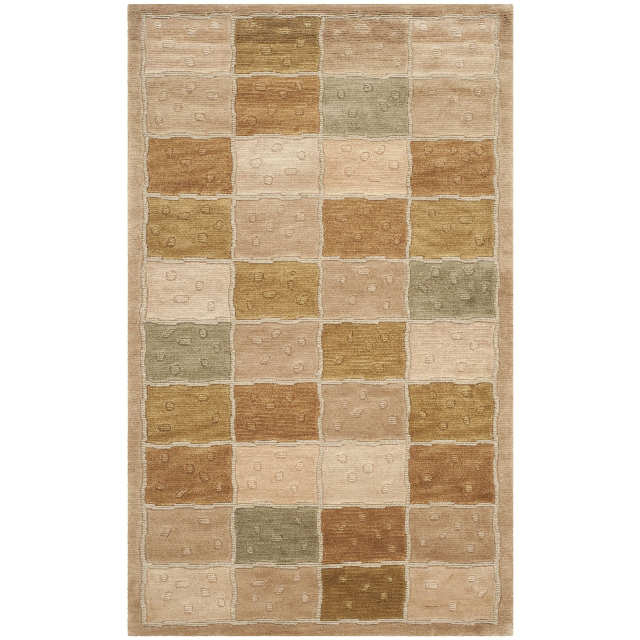 Patchwork Area Rug Rug Size: Rectangle 4' x 6'