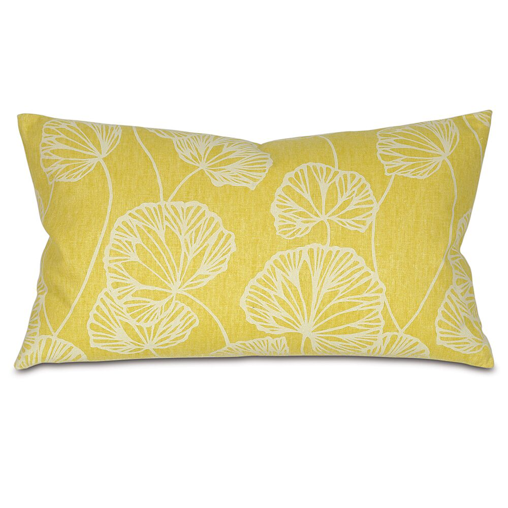 Sylvia Throw Pillow Color: Chartreuse