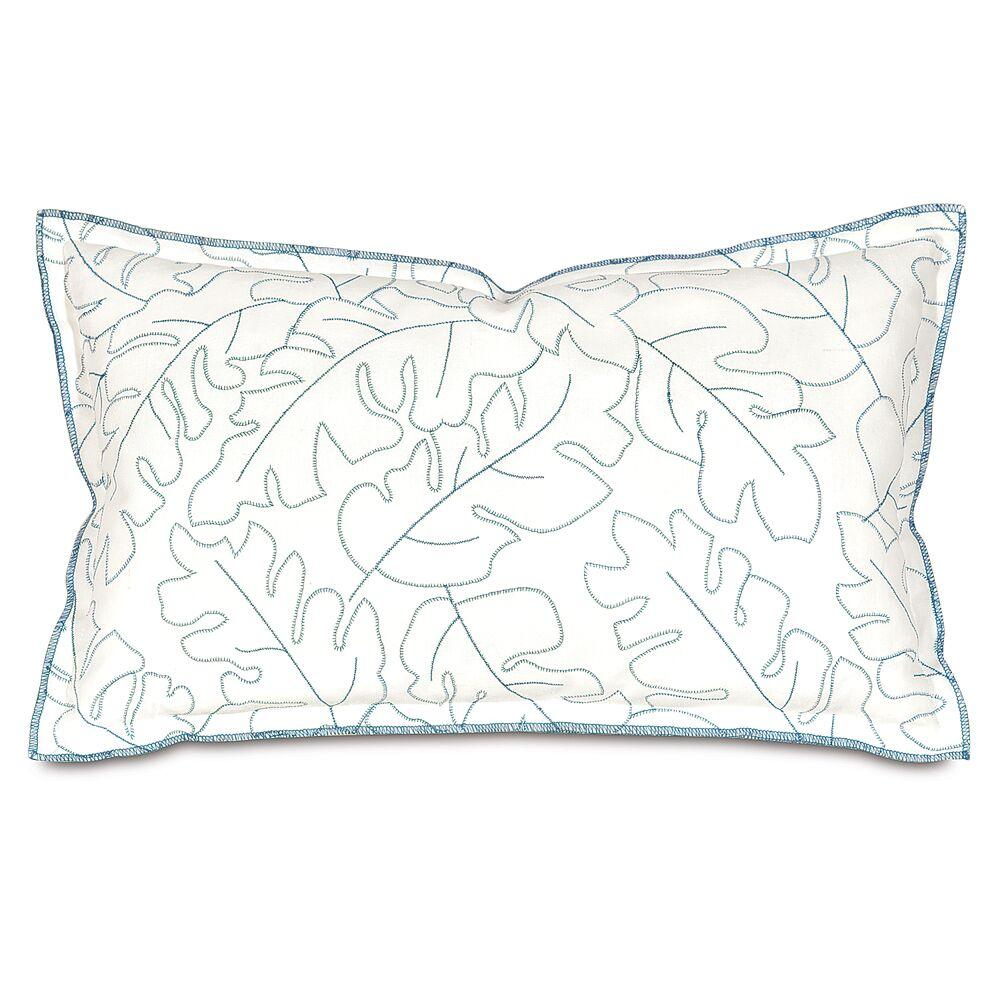 Treviso Lumbar Pillow Color: Denim