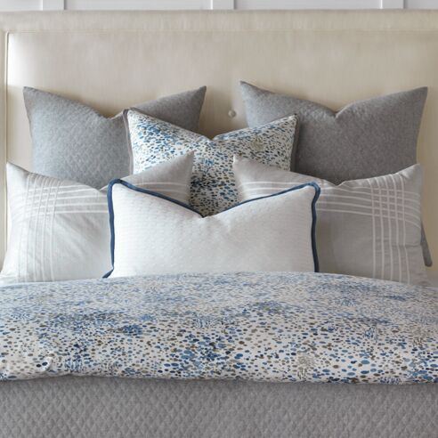 Marvel Throw Pillow Color: Sapphire