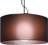 Fog 1-Light Drum Pendant Shade Color: Mocha, Size: 19.7
