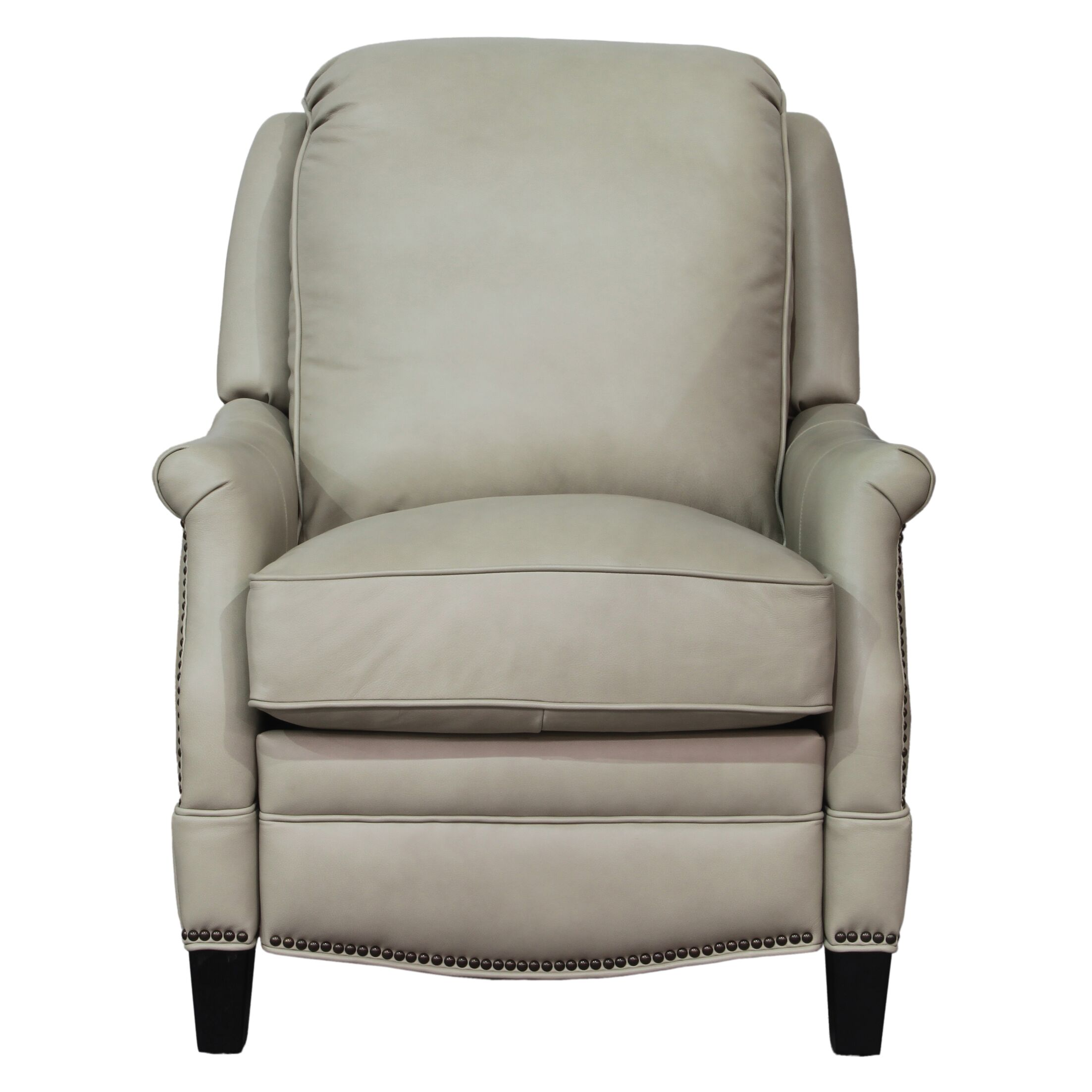 Ashebrooke Leather Manual Recliner Upholstery: Shoreham Cream