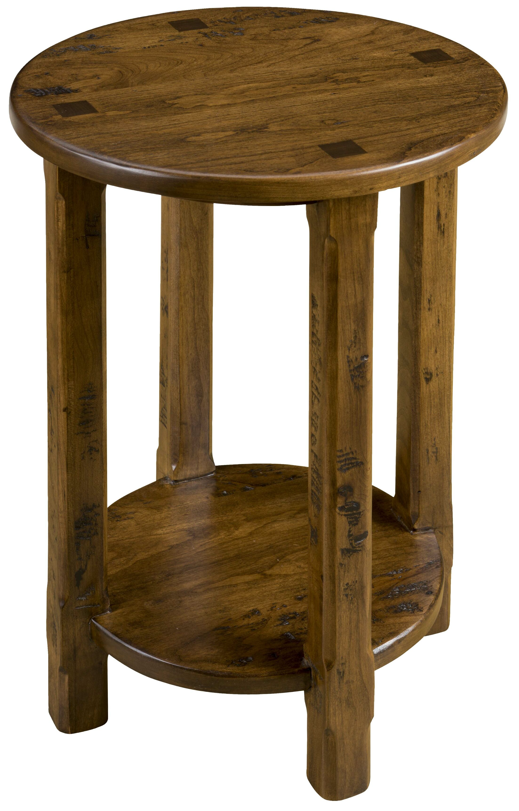 Elements End Table Color: Acanthus