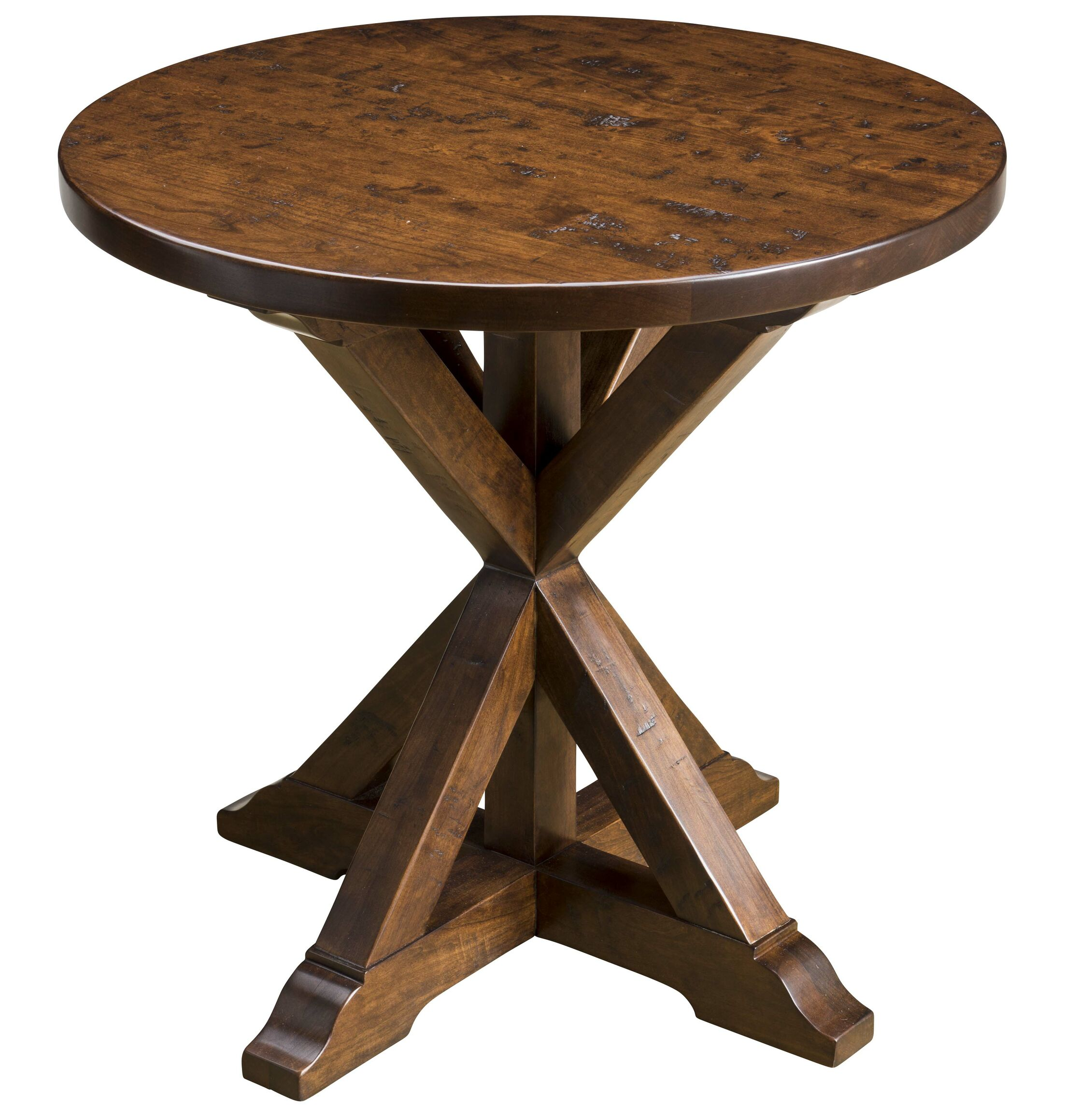 Plaza Round End Table Size: 25