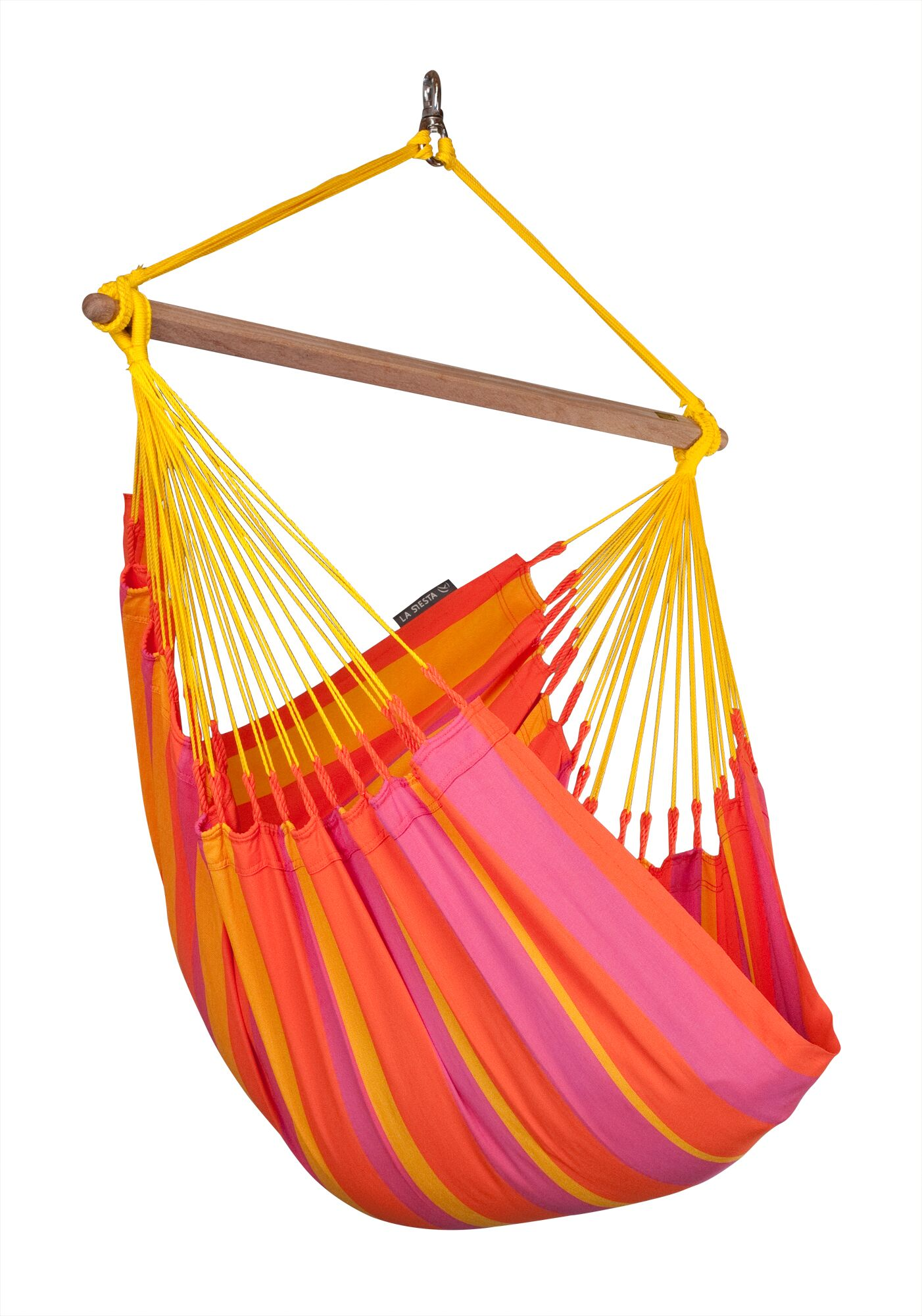 SONRISA Weatherproof Basic Olefin Chair Hammock Color: Mandarine