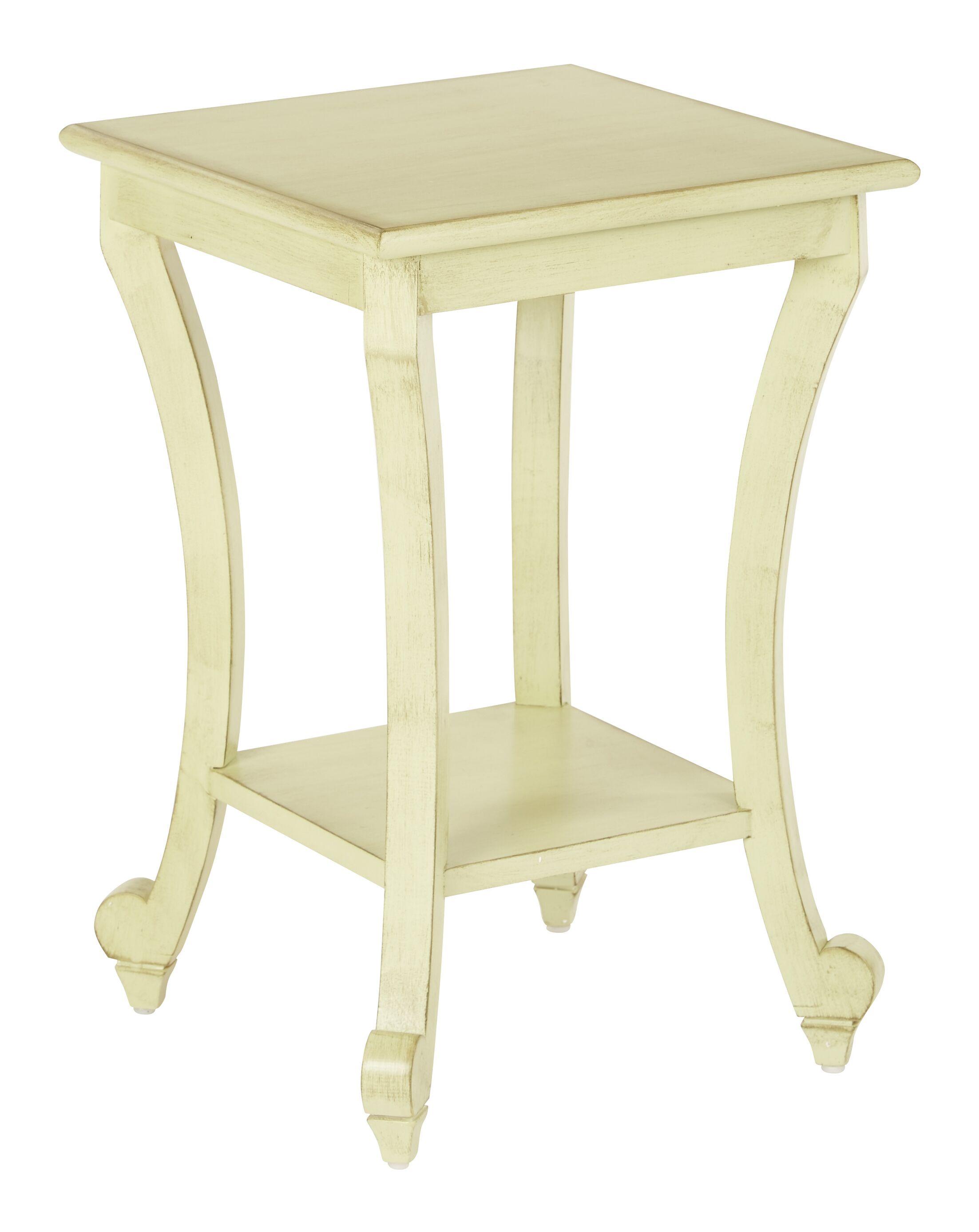 Daren End Table Color: Antique Celedon