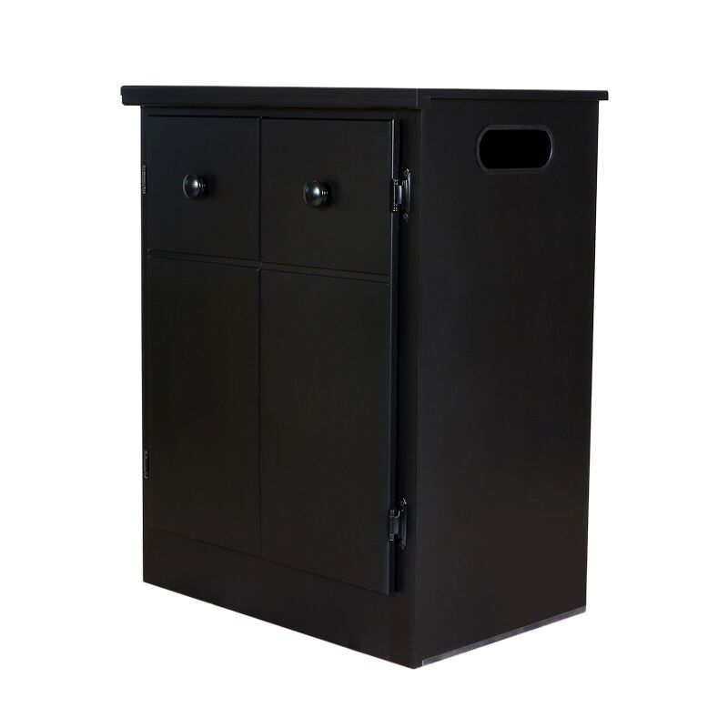CPAP Nightstand Color: Solid Black